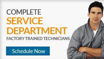 Complete Service Department - Factory Trained Technicians - Schedule Now!