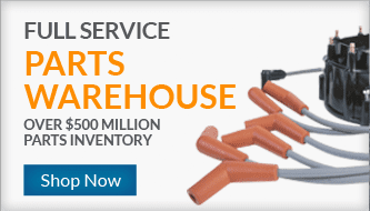 Full Service Parts Warehouse - Over $500 Million Parts Inventory - Shop Now!