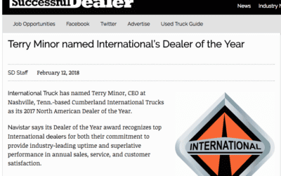 Cumberland Featured on Successful Dealer – Dealer of the Year
