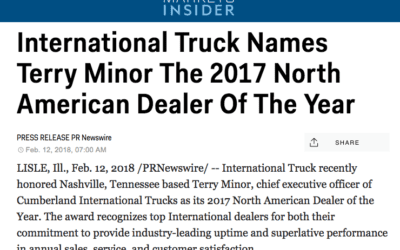 Cumberland Featured on Business Insider – Dealer of the Year