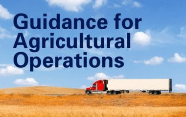 Agricultural Exceptions and Exemptions to the FMCSA Hours of Service (HOS) and Commercial Driver's License (CDL) Rules
