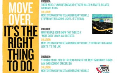 Move Over. It's the Law.