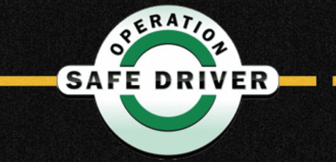 """CVSA """"Operation Safe Driver Week"""" will happen as scheduled, July 12-18, 2020"""