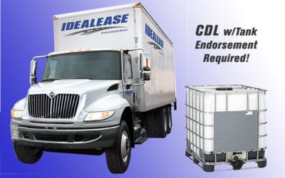 Do You Realize This NON-CDL Truck Could Require the Driver to Have CDL With Tank Endorsement to Drive?