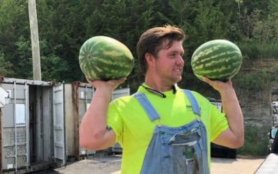 Cumberland Tractor Supports Local Farmers with Customer Watermelon Day