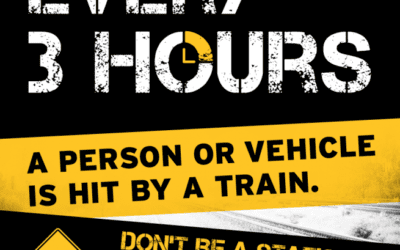 New Operation Lifesaver Video Warns Filming on Train Tracks is Illegal, Deadly!