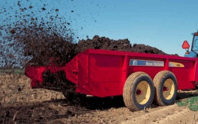 50% OFF & 12 Year Guarantee on New Holland Manure Spreaders