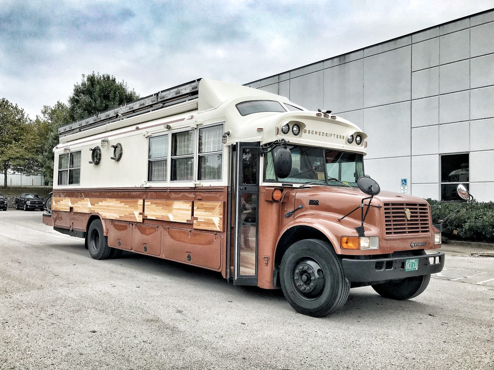 THE Coolest School Bus Was in Our Shop: International Truck