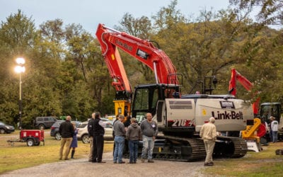 Cumberland Tractor & Equipment Showcase Features Link-Belt, Indeco, Woods