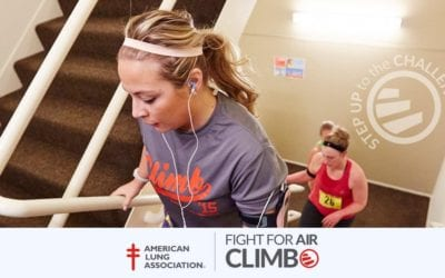 Catch Us at the Fight for Air Climb – Saturday, November 3
