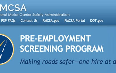 Are You Using the PreEmployment Screening Program (PSP)?