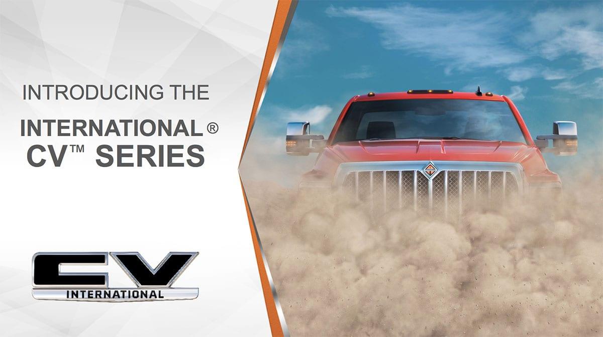 The All New International Cv Series Is Here International