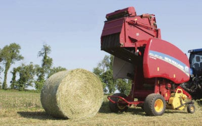 20% Off In-Stock New Holland Roll-Belt 450 Balers