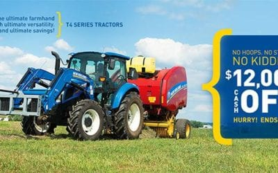 New PowerStar™ & T4 Series Tractor On the Way