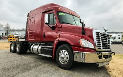 Featured Used Truck – 2015 Freightliner Cascadia