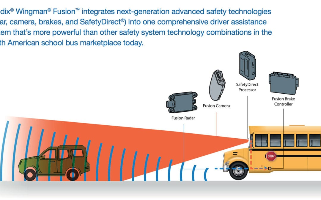 IC Bus First to Market with Standard Electronic Stability Control and Collision Mitigation Systems