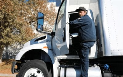Safely Getting In or Out of a Commercial Motor Vehicle