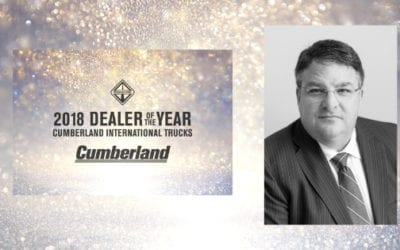 Cumberland Awarded 2018 International Dealer of the Year – DOTY Two Years in a Row!