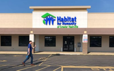 Idealease Team at Nashville Habitat for Humanity