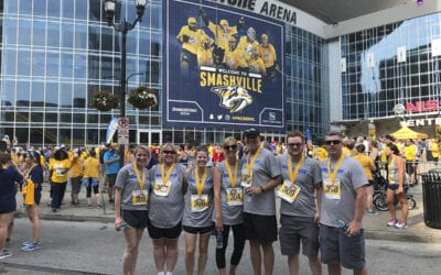 Idealease Team Raises Money to Fight Cancer at Fangtastic 5K