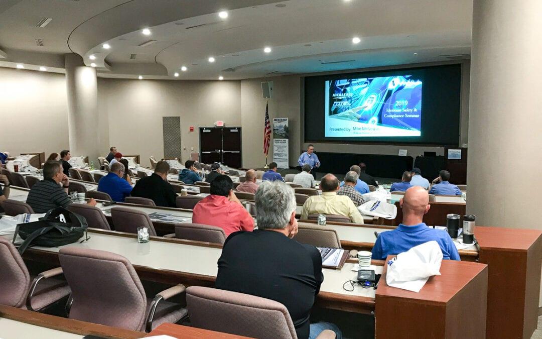 Idealease Cancels 2020 Safety Seminars