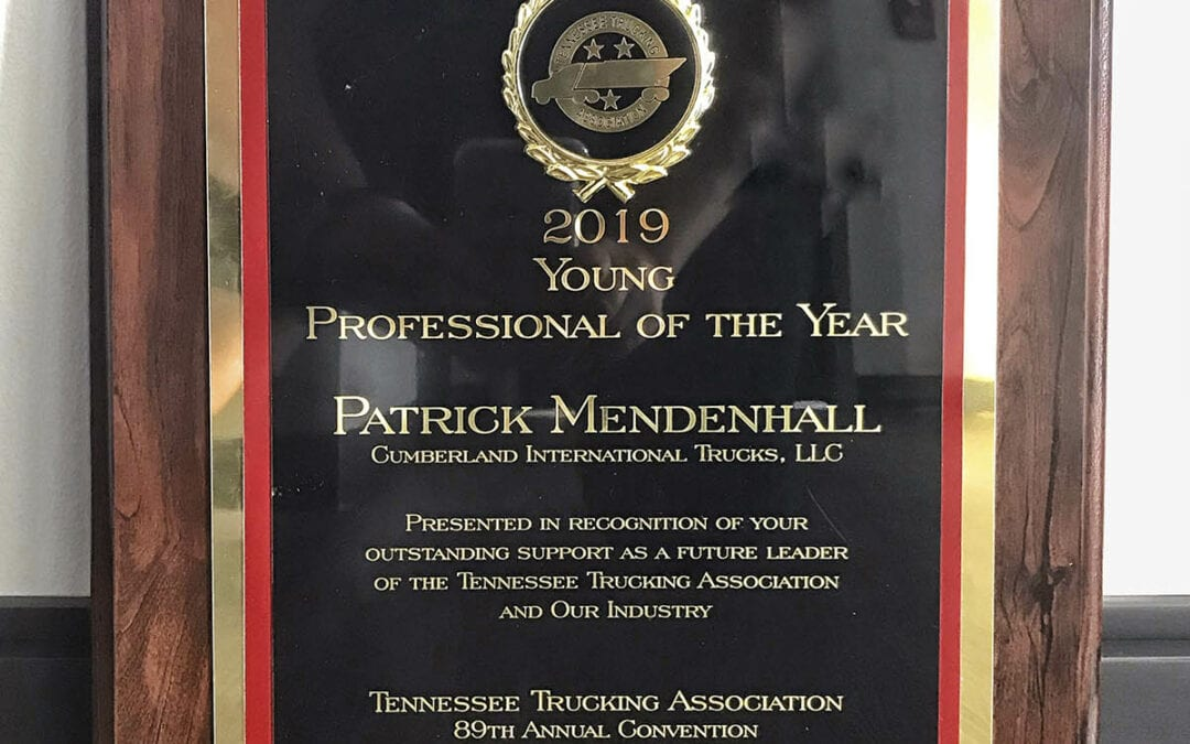 Tennessee Trucking Association Awards Patrick Mendenhall Young Professional of the Year