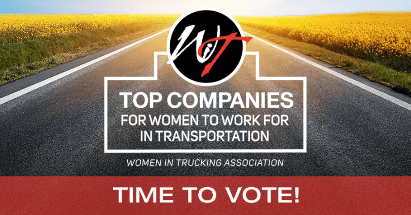 Don't forget to Vote for Cumberland! Finalist: WIT's Top Companies for Women to Work For in Transportation