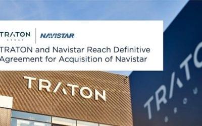 TRATON and Navistar Reach Definitive Agreement for Acquisition of Navistar