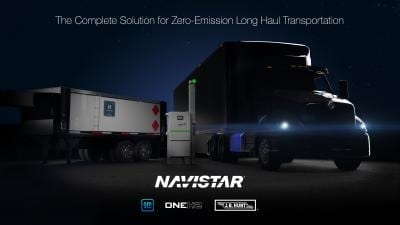 Navistar Collaborates with General Motors And OneH2 To Launch Hydrogen Truck Ecosystem